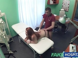 Faux clinic doc smashes a patient outlander behind porn mistiness